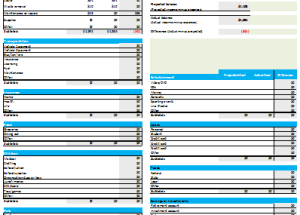 family monthly budget planner excel budget templates for excel
