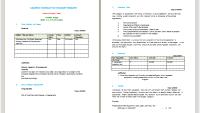 Budget Proposal Format